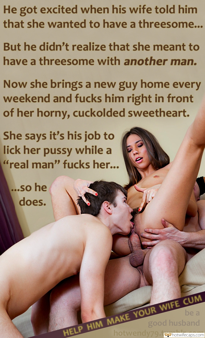 Couple Enjoying Kinky <strong>Cuckold</strong> Threesome