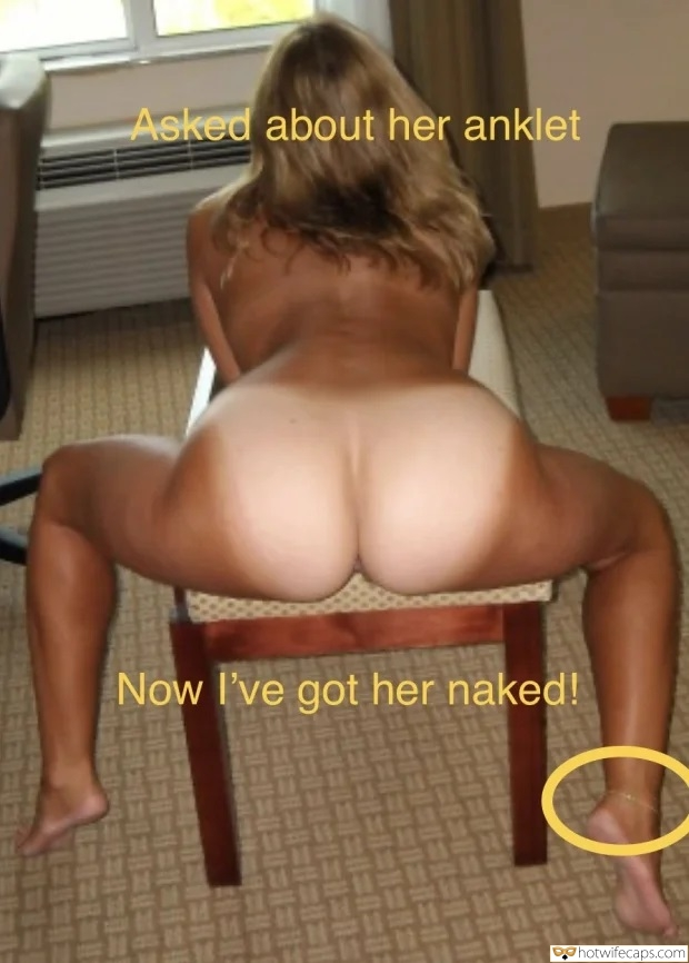 <strong>Hotwife</strong> Half Hour After Hansome Stud Aske Her About Anklet