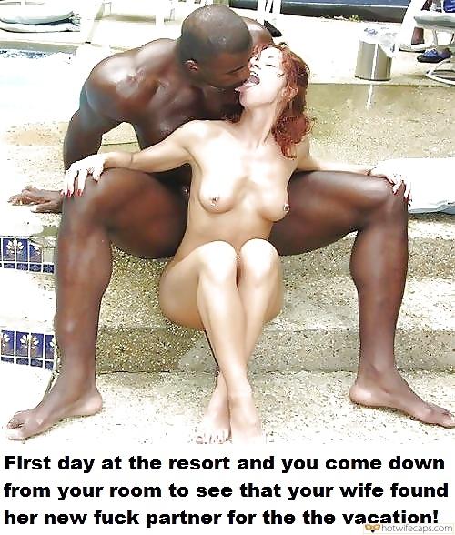 Nude Petite Redhead Kissing Huge Black Muscle Man