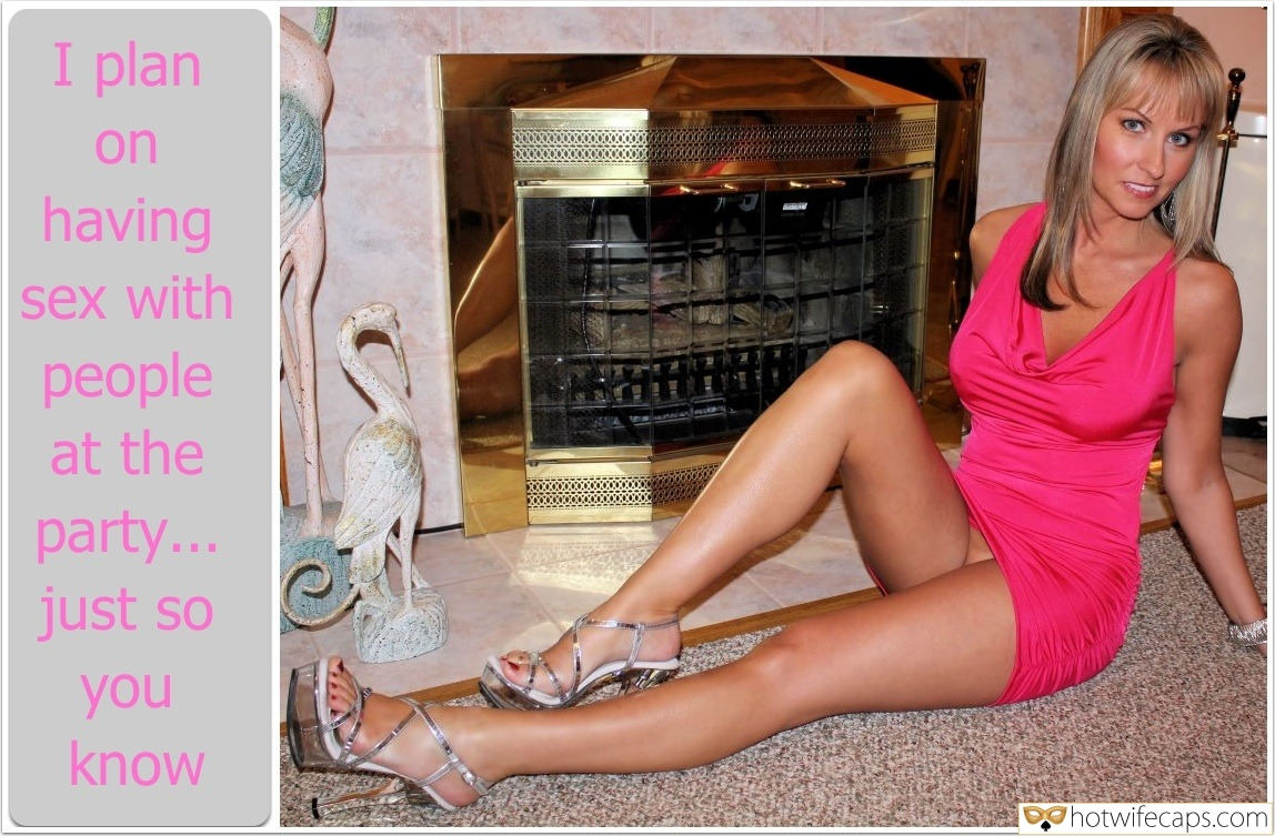 Pantyless Mature Wife Posing by the Fireplace