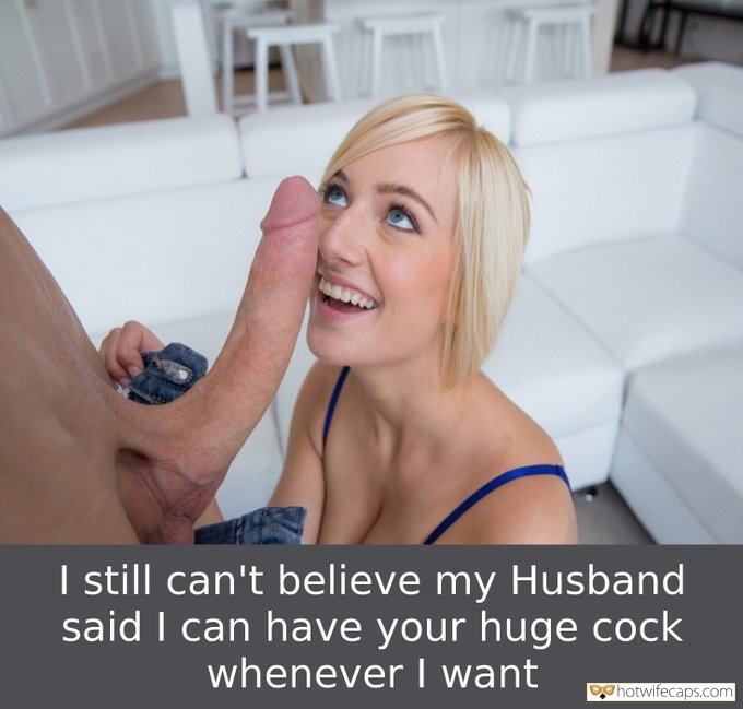White Monster Cock Makes Hotwife Happy